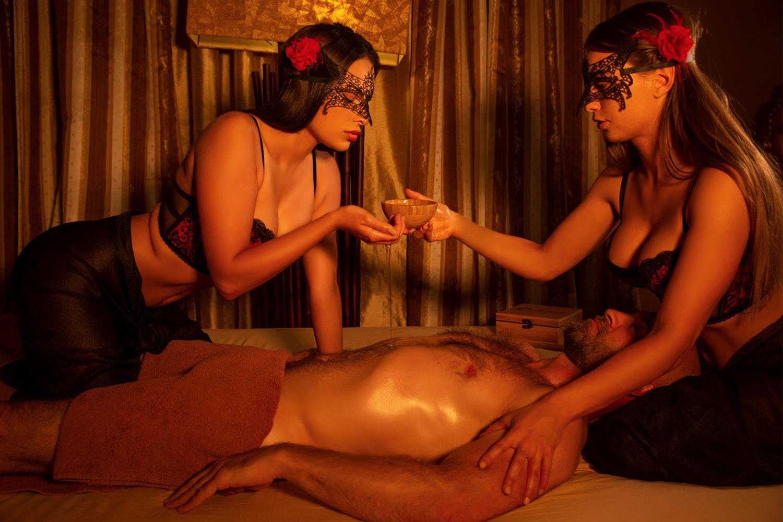 Mýdlová masáž